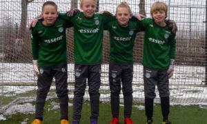 Keepersschool Groningen Keeping the Zero ISHA DE VREEDE (VELOCITAS 1897), ROWAN BOEREMA (GRC GRONINGEN), ALIN TURKSMA (HOOGEZAND), FINN VAN DIJK (GVAV RAPIDITAS)