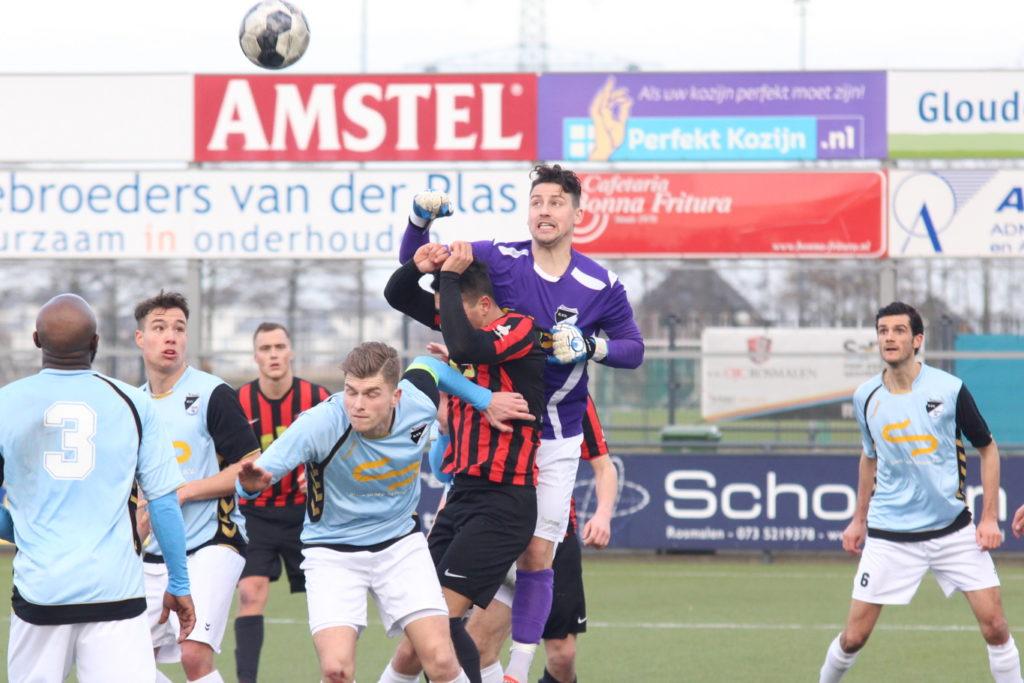Baldadige beelden: Felix van Berkel (Quick'20) en Koen van Boxtel (OJC Rosmalen).