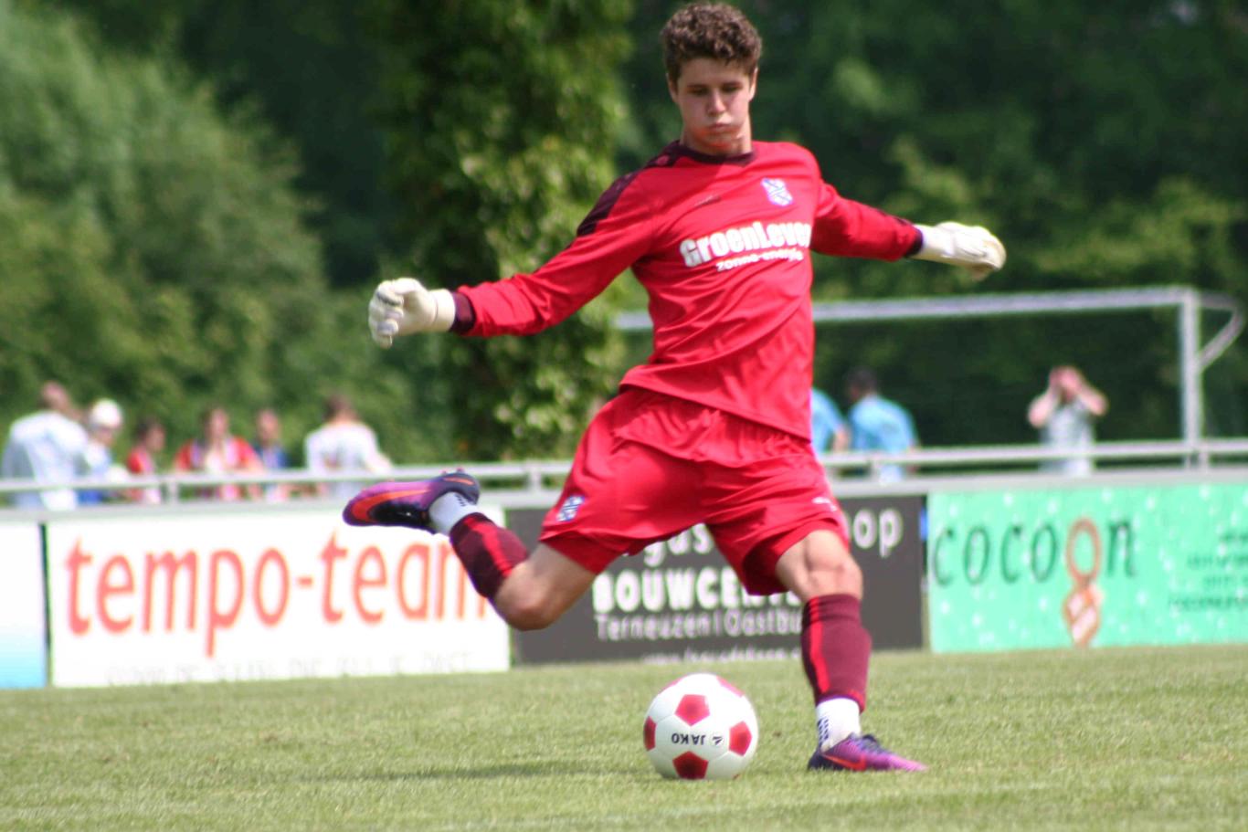 Ruben Stuiver SC Heerenveen U19 KingsTalent University of San Francisco men's soccer