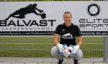 Keepersschool Balvast SV Ommoord Kelly Hermsen