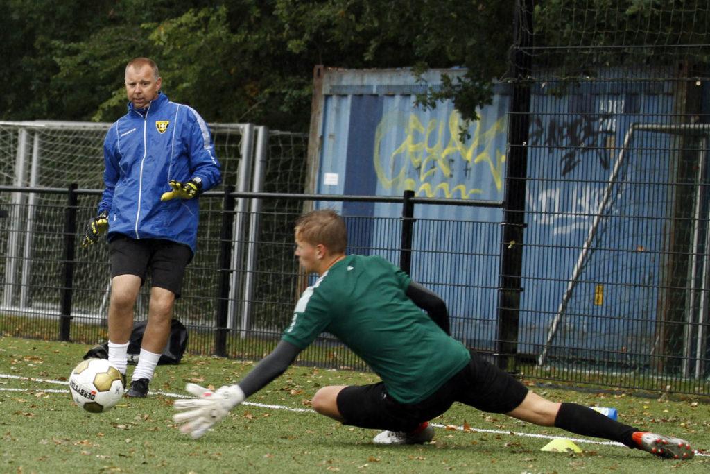 Maurice Bouten VVV Venlo keepersschool 'Challenge Arena'