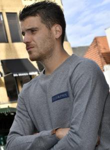 Sweater KLSSKPRS Label / Grey