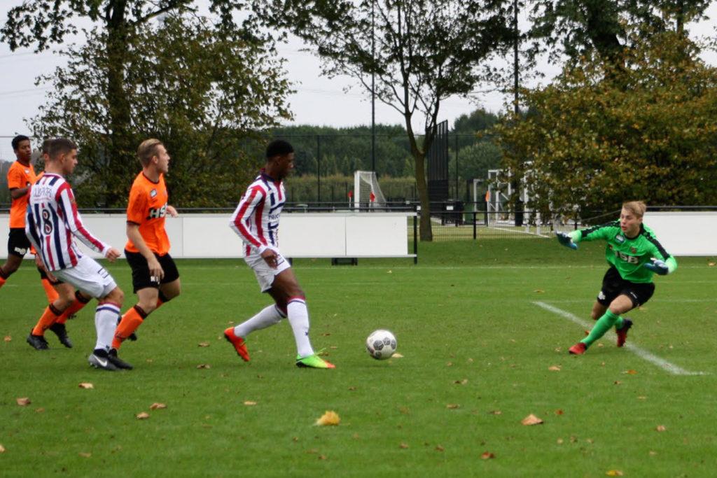 Stan Zoetebier tegen Willem II