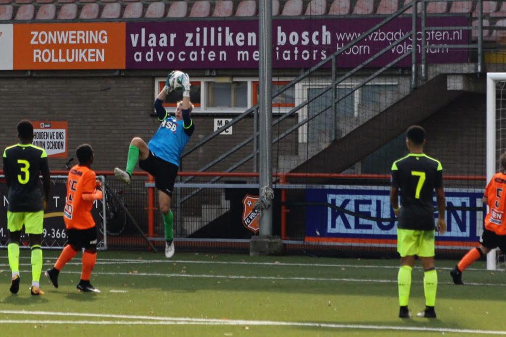 Stan Zoetebier tegen PSV Jo19