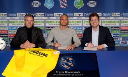 SC Heerenveen Trevor Doornbusch Mustafa Gumussu