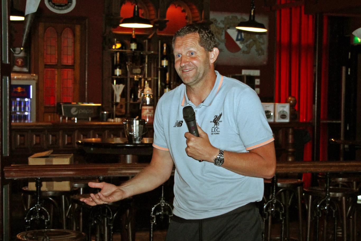 John Achterberg KlasseKeepers Liverpool FC