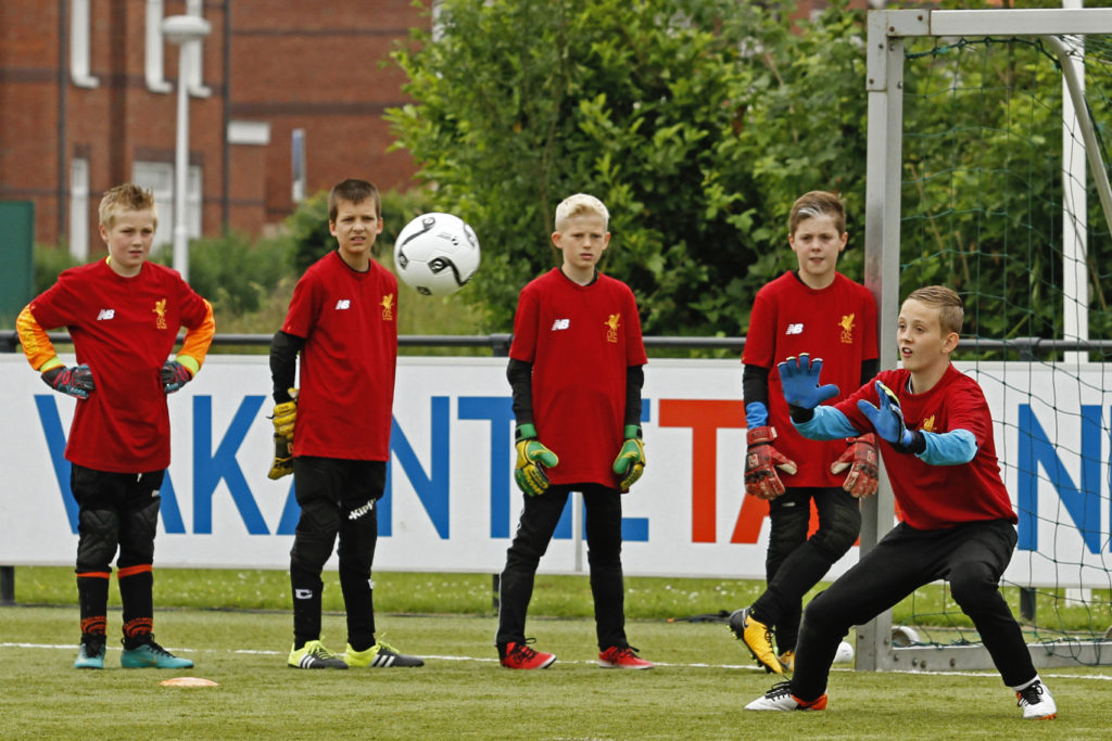 'The Liverpool FC Way' keeperstraining bij VV De Meern John Achterberg