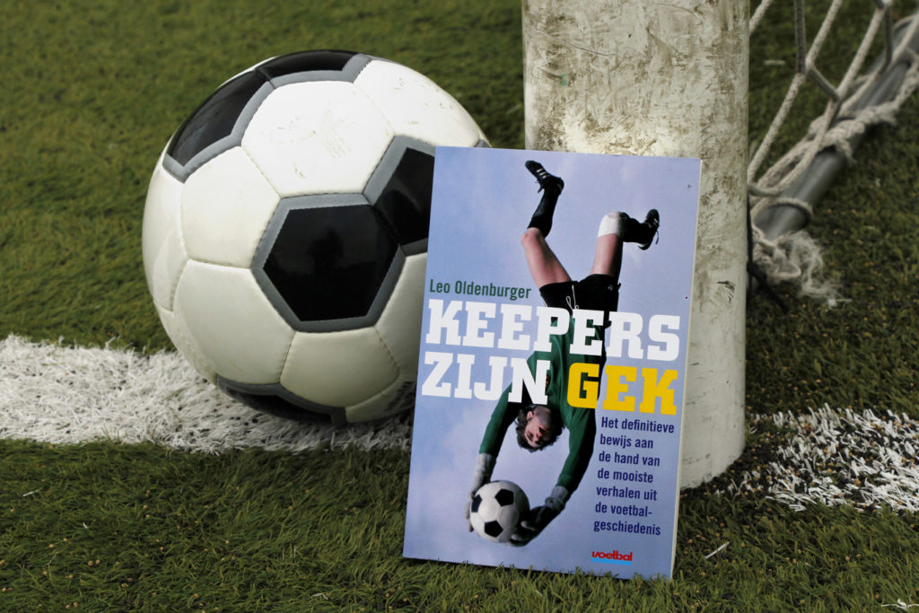 Keepersknipoog Leo Oldenburger FOX Sports Voetbal International KlasseKeepers Keepers zijn gek