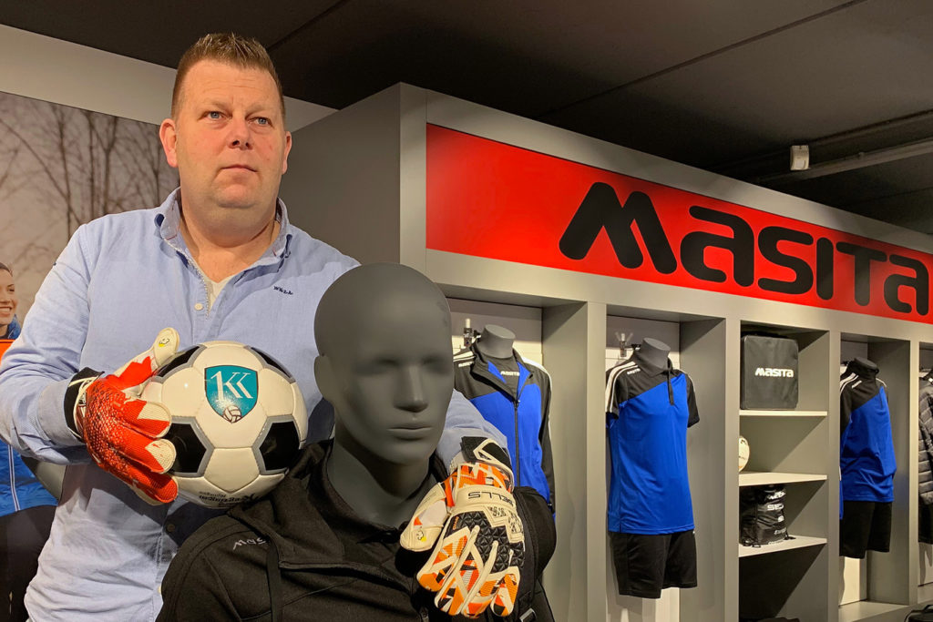 Walter Schuurman Sells Masita Elite KlasseKeepers